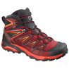Salomon X Ultra 3 Mid GTX Red Dahlia/Cherry Tomato