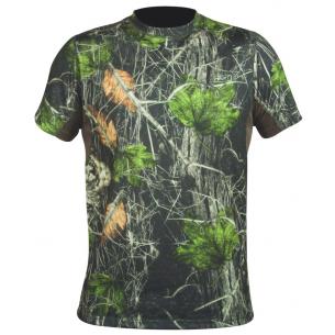 Camiseta M/C Hart Crew-S Camo Forest