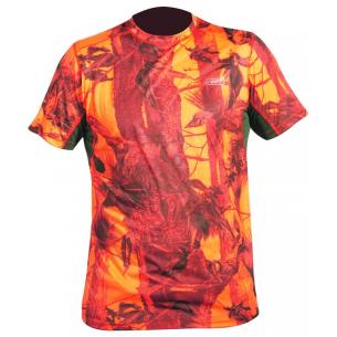 Camiseta M/C Hart Crew-S Camo Blaze