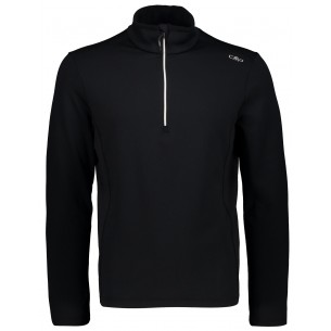 Pullover CMP Campagnolo Negro 3G10747 23UD