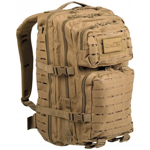 Mochila Mil-tec US Assault Pack LG 36 Litros Laser Cut Coyote 14002705