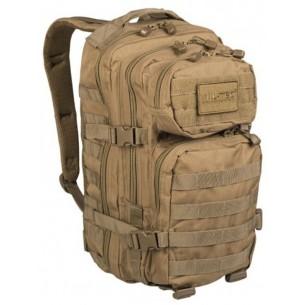 Mochila Táctica US ASSAULT Mil-Tec SM 20L. TAN Desert Coyote 14002005