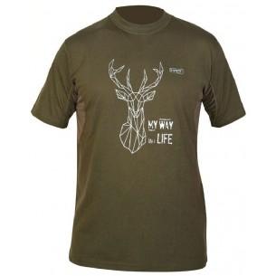 Camiseta Hart Branded Ciervo