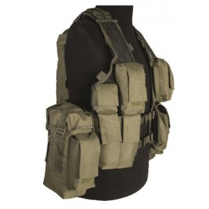 Chaleco Táctico Comando RSA Verde 10711001
