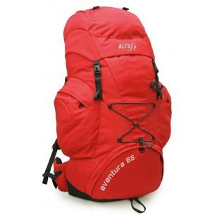 Mochila Altus Aventura 65L. Rojo 1250001080