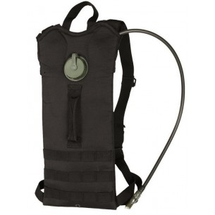 Mochila Hidratación Mil-Tec Waterpack Basic Negra 14537102