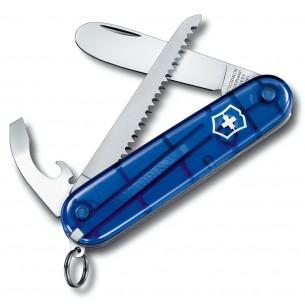 Mi Primera Victorinox C/S Azul Traslúcida V.02373.T5