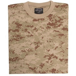 Camiseta M/C Mil-Tec Desert Digital 11012073