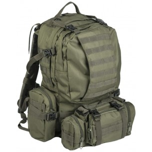 Mochila Defense Pack Assembly Mil-Tec 36 Litros Verde OD 14045001