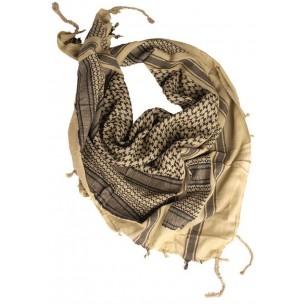 Shemagh Mil-Tec Desert Khaki/Negro 12611000