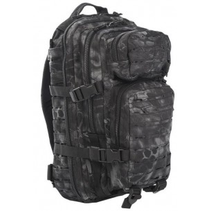 Mochila Mil-Tec US Assault Pack SM 20 L. Laser Cut Mandra Night 14002685