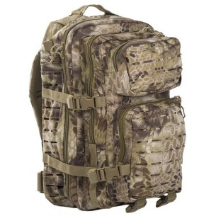 Mochila Mil-tec US Assault Pack LG 36 Litros Laser Cut Mandra Tan 14002783
