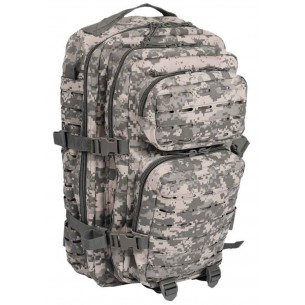 Mochila Mil-tec US Assault Pack LG 36 Litros Laser Cut Mandra AT-Digital 14002770