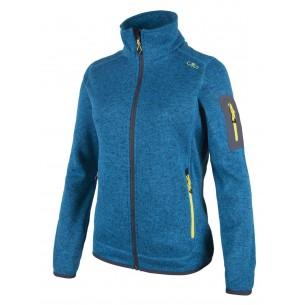 Chaqueta CMP Campagnolo Knitted Melange Blue/Asphalt 369Q 3H14746