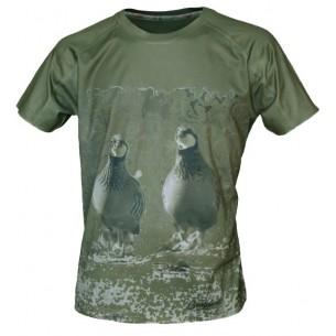 Camiseta Benisport Técnica Perdices M/C 456