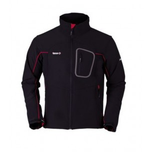 Izas Mogen Softshell Black/Red