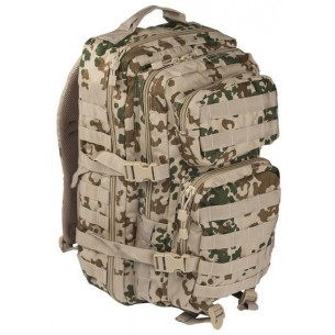 Mochila Táctica US ASSAULT MIL-TEC LG 36 L.Tropical Camo 14002262