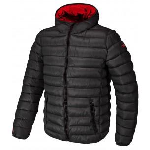 Chaqueta CMP Campagnolo Zip Hood Nero U901