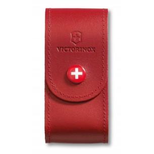 Funda Victorinox Cuero Roja Grande V.40521.1