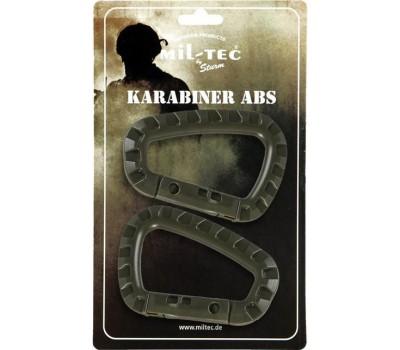 Mil-Tec Carabiner ABS Olive 15921001