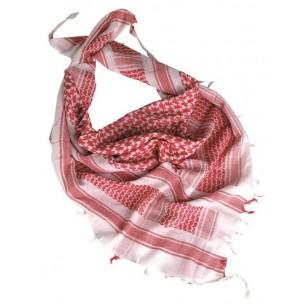 Shemagh Mil-Tec Blanco/Rojo 12614000