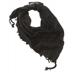 Shemagh Mil-Tec Negro 12618000