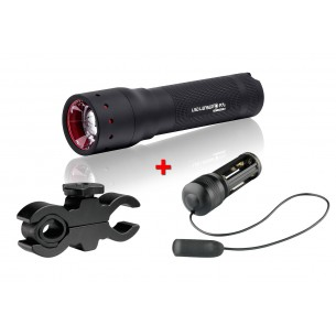 Led Lenser P7.2 + Kit Armas 1200 320 Lúmenes