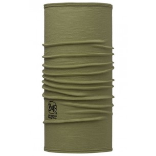 Merino Wool Buff Solid Light Military 113010.850.10.00