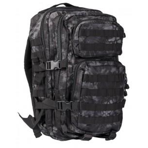 Mochila Mil-Tec US Assault Pack LG 36 L. Mandra Night 14002285
