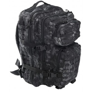 Mochila Mil-Tec US Assault Pack LG 36 L. Laser Cut Mandra Night 14002785