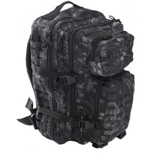 Mochila Mil-Tec US Assault Pack LG 36 L. Laser Cut Mandra Night 14002785