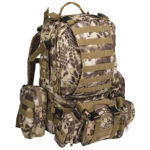 Mochila Defense Pack Assembly Mil-Tec 36 Litros Mandra Tan 14045083
