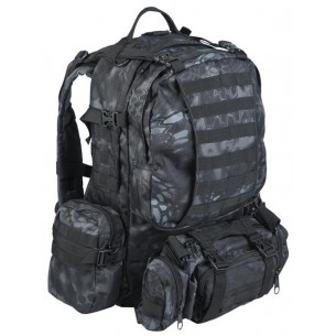 Mochila Defense Pack Assembly Mil-Tec 36 Litros Mandra Night 14045085