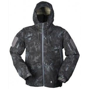 Mil-Tec Chaqueta Impermeable Mandra Night 10624085