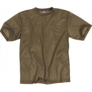 Mil-Tec Camiseta M/C Coyote Mesh 17811080