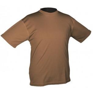 Mil-Tec Camiseta M/C Coyote QuickDry 11081019