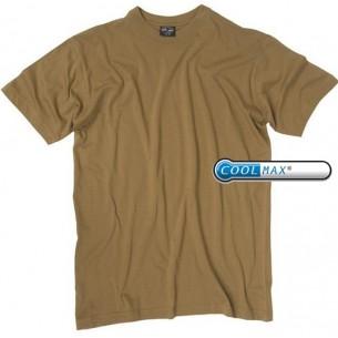 Mil-Tec Camiseta M/C Coyote Coolmax 11211105