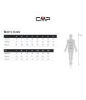 Chaqueta CMP Campagnolo Fix Hood Antracite Cyano 3A51577