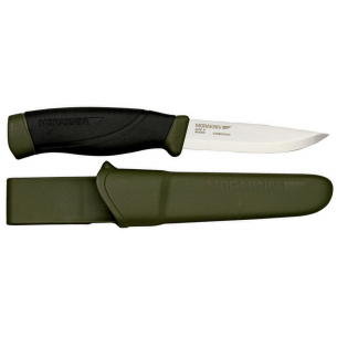 Cuchillo Morakniv Companion Heavy Duty MG Carbono Green MO11746