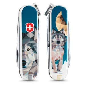 Victorinox Classic The Wolf is Coming Home V.06223.L1704