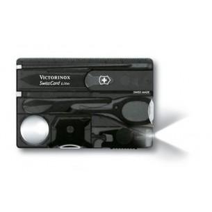 Victorinox Swisscard Lite Antracita Transp. Luz V.07333.T3