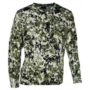 Camiseta Benisport Pixelada M/L 467