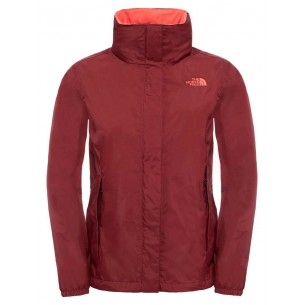 The North Face W Resolve 2 Deep Garnet