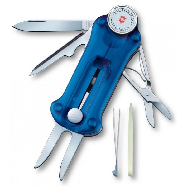 Victorinox Golf Tool Azul Transp. V.07052.T2