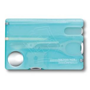 Victorinox Swisscard Nailcare, Azul Hielo Trans. V.07240.T21