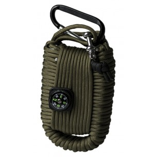 Mil-Tec Kit Paracord Survival Grande Verde 16027701