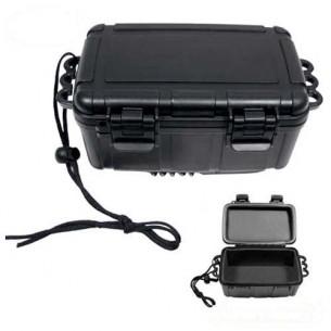 MFH Caja Plástico  Negro Resistente Agua 27166