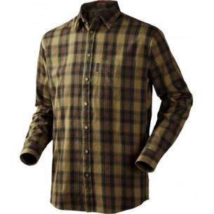 Camisa Seeland Pilton Phantom Green Check