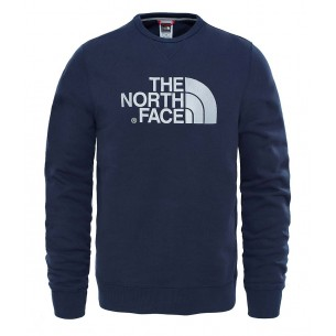 The North Face Jersey Cuello Redondo Drew Peak Urban Navy