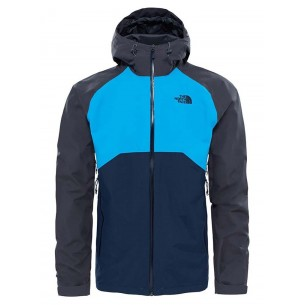 The North Face Stratos Jacket TNF Grey/Blue